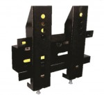 Rack Riel fijo a la pared LCD, LED desde 14, 23